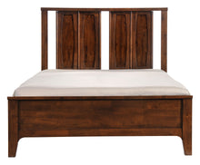 Load image into Gallery viewer, Oslo Queen Platform Bed - Walnut Finish