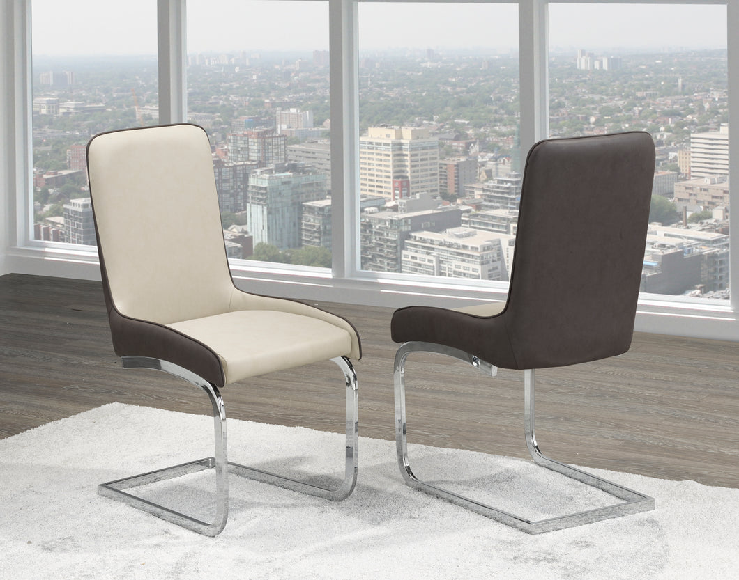 Donatello Dining Chair (Set of 2) - Two Tone | Candace and Basil Furniture