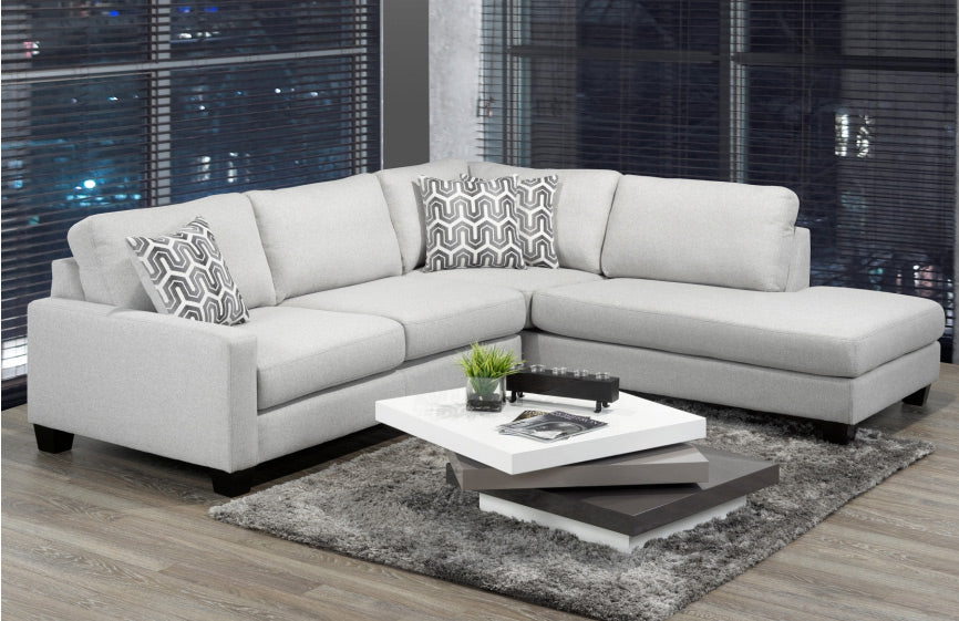 Jackson Sectional (RHF/LHF) - Light Grey 🇨🇦