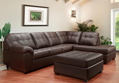 Boardwalk RHF Sectional - Chocolate 🇨🇦