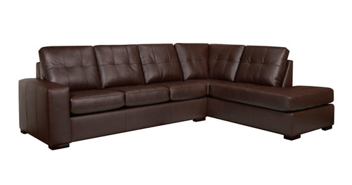 Cora RHF Sectional - Chocolate 🇨🇦