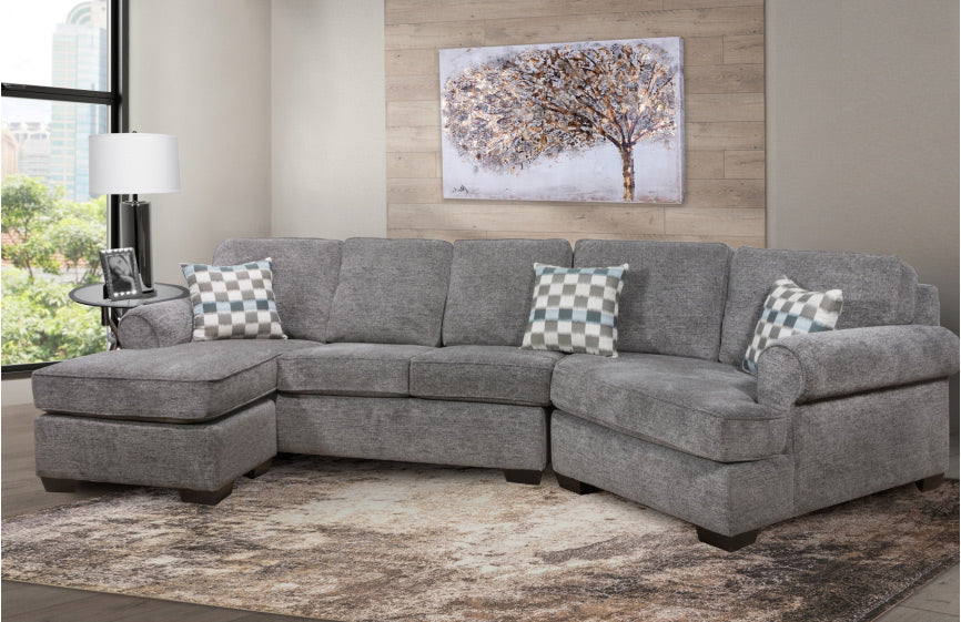 Apollo Sectional - Grey 🇨🇦