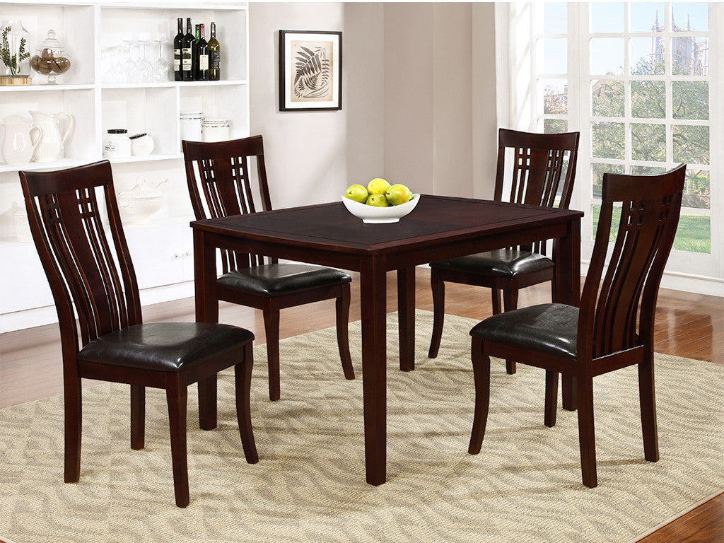Elizabeth 5pc Dining Set | Candace and Basil Furniture