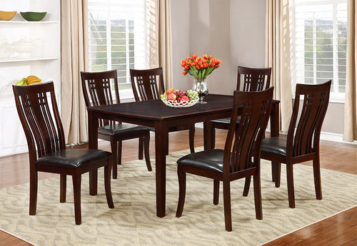 Candace & Basil Furniture |  Elizabeth 7pc Dining Set