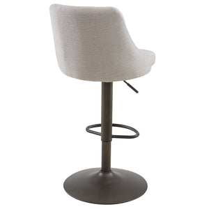 Gas Lift Stool - Beige (Set Of 2)