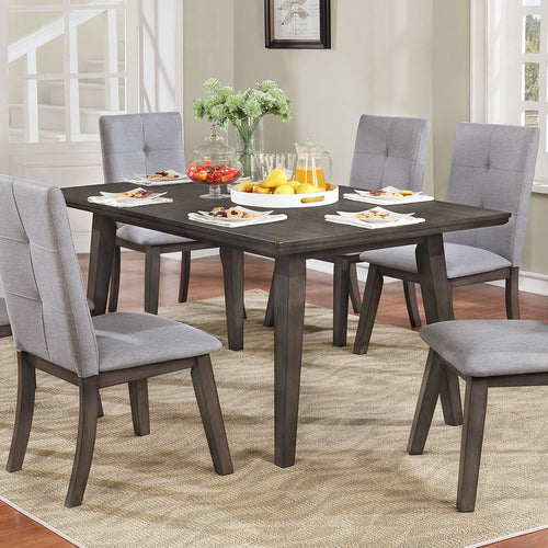 Ashland Rectangular Dining Table - Grey Wood
