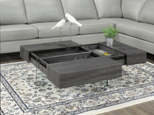 Load image into Gallery viewer, Coffee Table w/ Storage - Grey