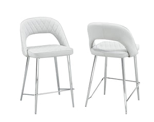 "Walden 24"" Counter Stools (Set of 2)- Off-White 