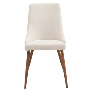 Cora Side Chair - Beige (Set Of 2)