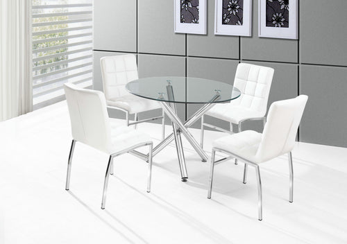 Weston Dining Chairs (Set of 4) - White