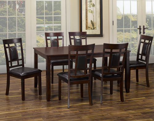 Michelle 7PC Dining Set - Espresso