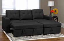 Load image into Gallery viewer, Anthony LHF/RHF Configurable Sleeper Sectional w/ Storage - Dark Grey Linen