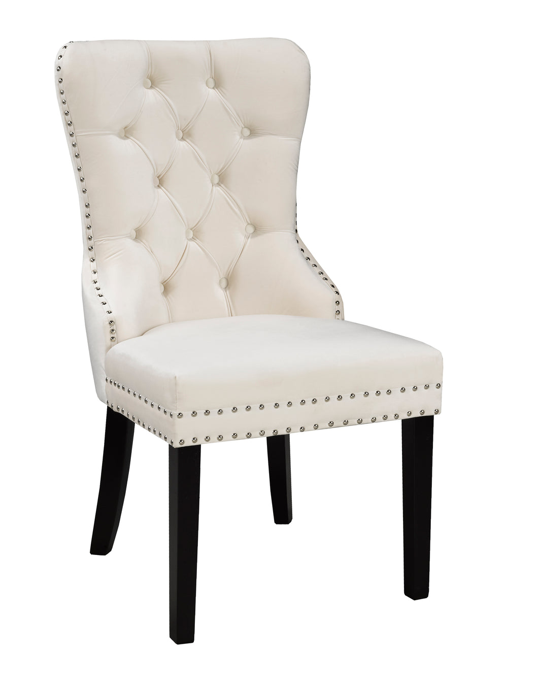 Verona Dining Chair - Cream Velvet | Candace and Basil Furniture