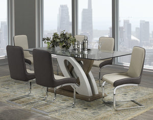 "Donatello 67"" Dining Table - Two Tone 