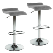 Load image into Gallery viewer, Gas Lift Stool - Grey (Set Of 2)