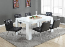 "Load image into Gallery viewer, Candace & Basil Dining Table - 36""X 60"" / White"