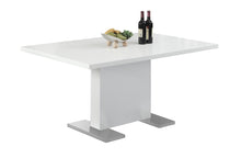 "Load image into Gallery viewer, Dining Table - 35""X 60"" / High Glossy White"