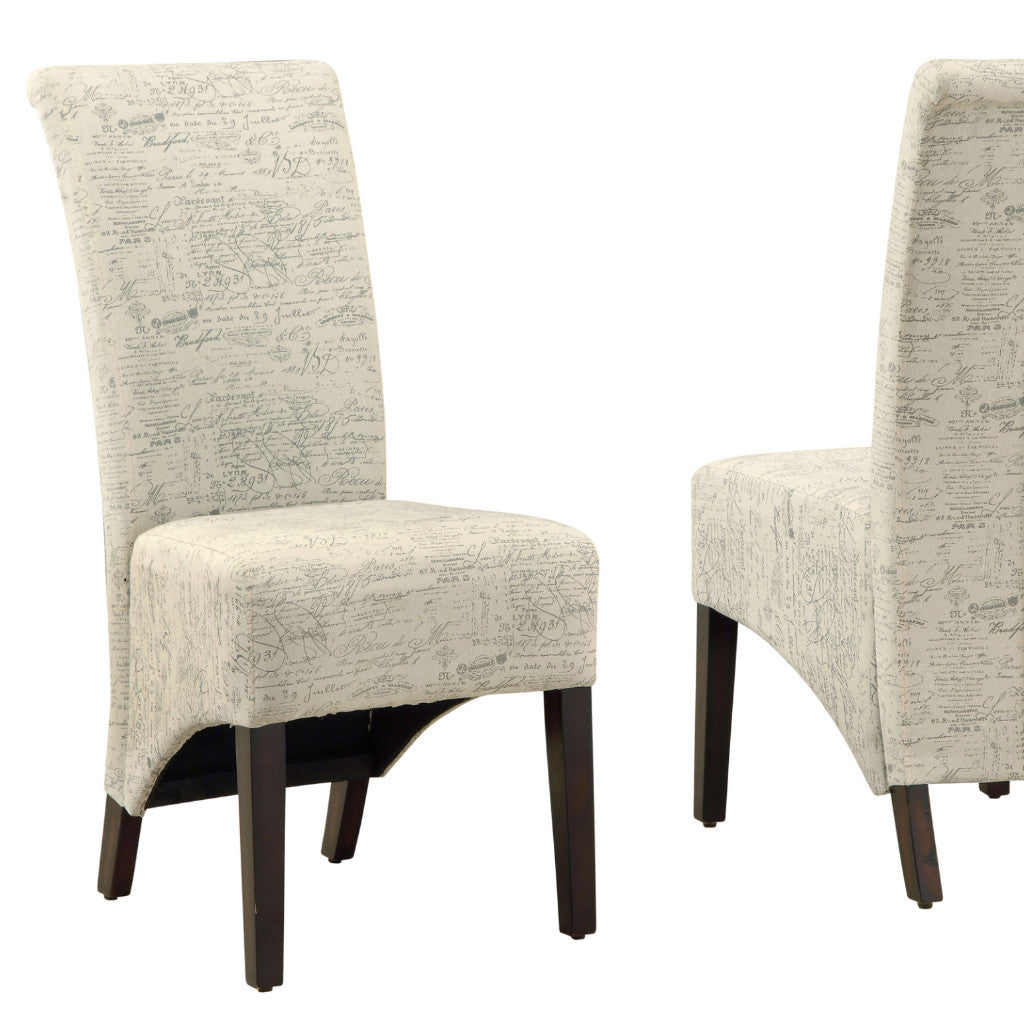 Candace & Basil Dining Chair - 2PC Set / 40