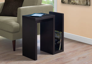 "Accent Table - 24""H / Cappuccino"