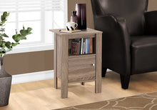 Load image into Gallery viewer, Candace & Basil Accent Table - Dark Taupe Night Stand With Storage