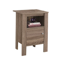 Load image into Gallery viewer, Accent Table - Dark Taupe Night Stand With Storage