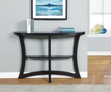 "Load image into Gallery viewer, Candace & Basil Console Table - 47""L / Cappuccino Hall Console"