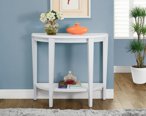 "Candace & Basil Console Table - 36""L / White Hall Console"