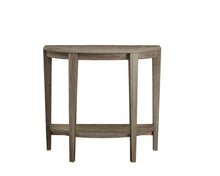 "Load image into Gallery viewer, Console Table - 36""L / Dark Taupe Hall Console"