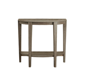 "Console Table - 36""L / Dark Taupe Hall Console"