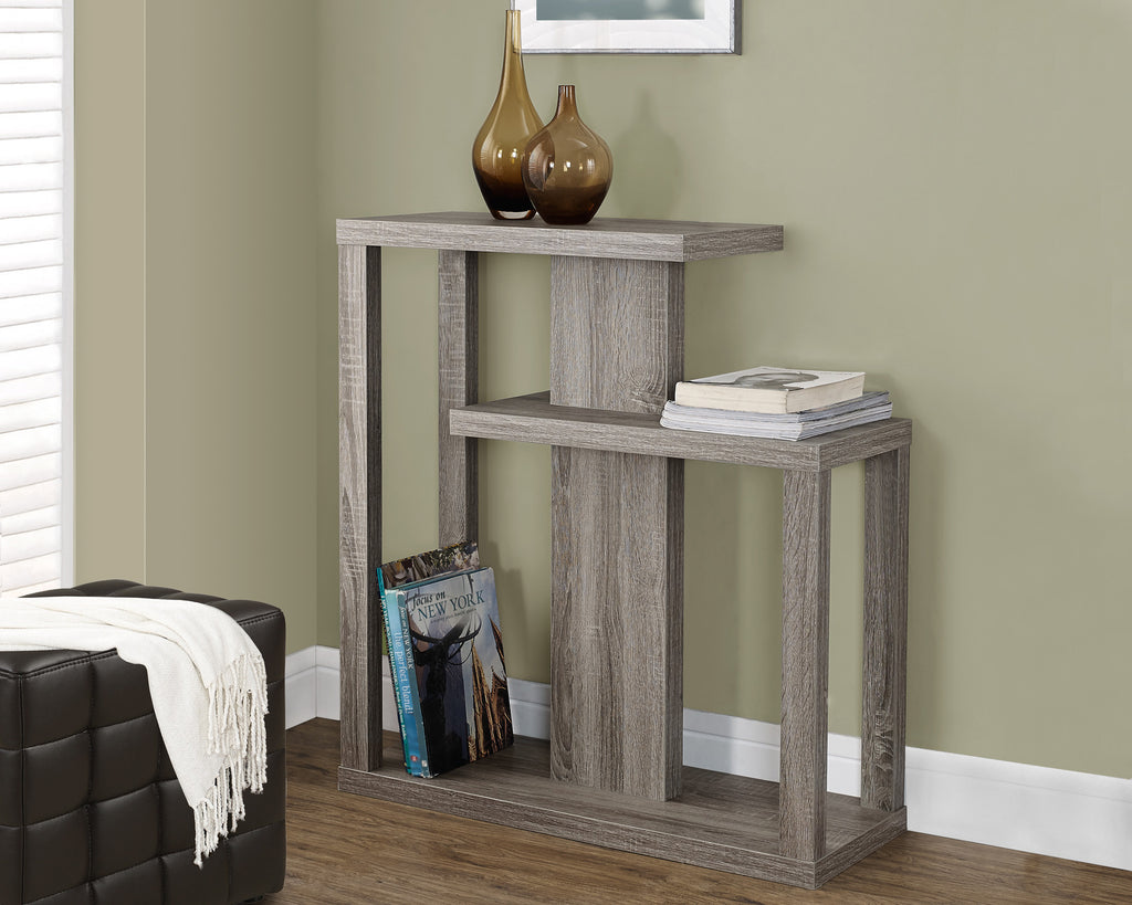 "Candace & Basil Console Table - 32""L / Dark Taupe Hall Console"