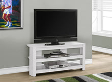 "Load image into Gallery viewer, Candace & Basil TV Stand - 42""L / White Corner"