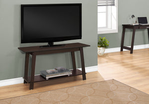 "Candace & Basil TV Stand - 42""L / Cappuccino"