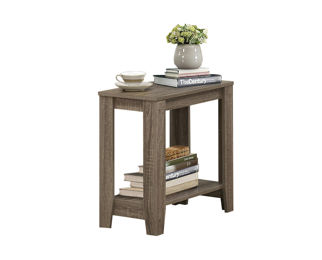 Accent Table - Dark Taupe