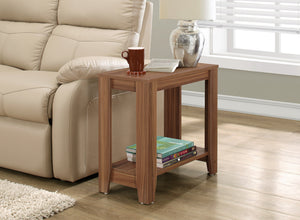 Candace & Basil Accent Table - Walnut