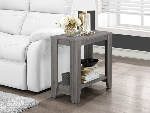 Candace & Basil Accent Table - Grey