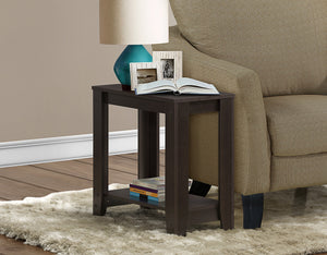 Candace & Basil Accent Table - Cappuccino