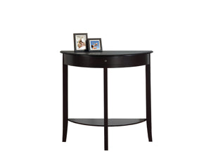 Contemporary Console Table - Dark Cherry