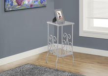 Load image into Gallery viewer, Candace & Basil Metal Plant Stand - White