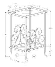 Load image into Gallery viewer, Metal Plant Stand - White
