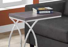 Load image into Gallery viewer, Accent Table - Grey With Chrome Metal
