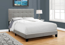 Load image into Gallery viewer, Candace & Basil Anderson Double/Full Bed Frame - Grey Linen