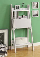 "Load image into Gallery viewer, Candace & Basil Computer Desk - 61""H / White Ladder Style"