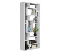 "Load image into Gallery viewer, Bookcase - 72""H / White"