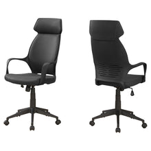 Load image into Gallery viewer, Office Chair - Black Microfiber / High Back E x ecutive