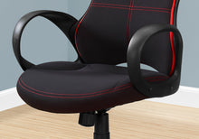 Load image into Gallery viewer, Office Chair - Black / Red Fabric / Multi Position