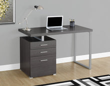 "Load image into Gallery viewer, Candace & Basil 48""L Computer Desk - Grey"