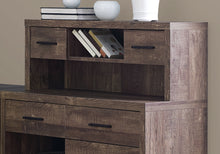 Load image into Gallery viewer, Computer Desk - Brown Wood Grain L/R Facing Corner