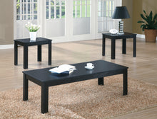 Load image into Gallery viewer, Candace & Basil Coffee Table Set - 3PC Set / Black