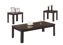Load image into Gallery viewer, Coffee Table Set - 3PC Set / Cappuccino