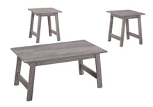 Load image into Gallery viewer, Coffee Table Set - 3pc Set / Grey